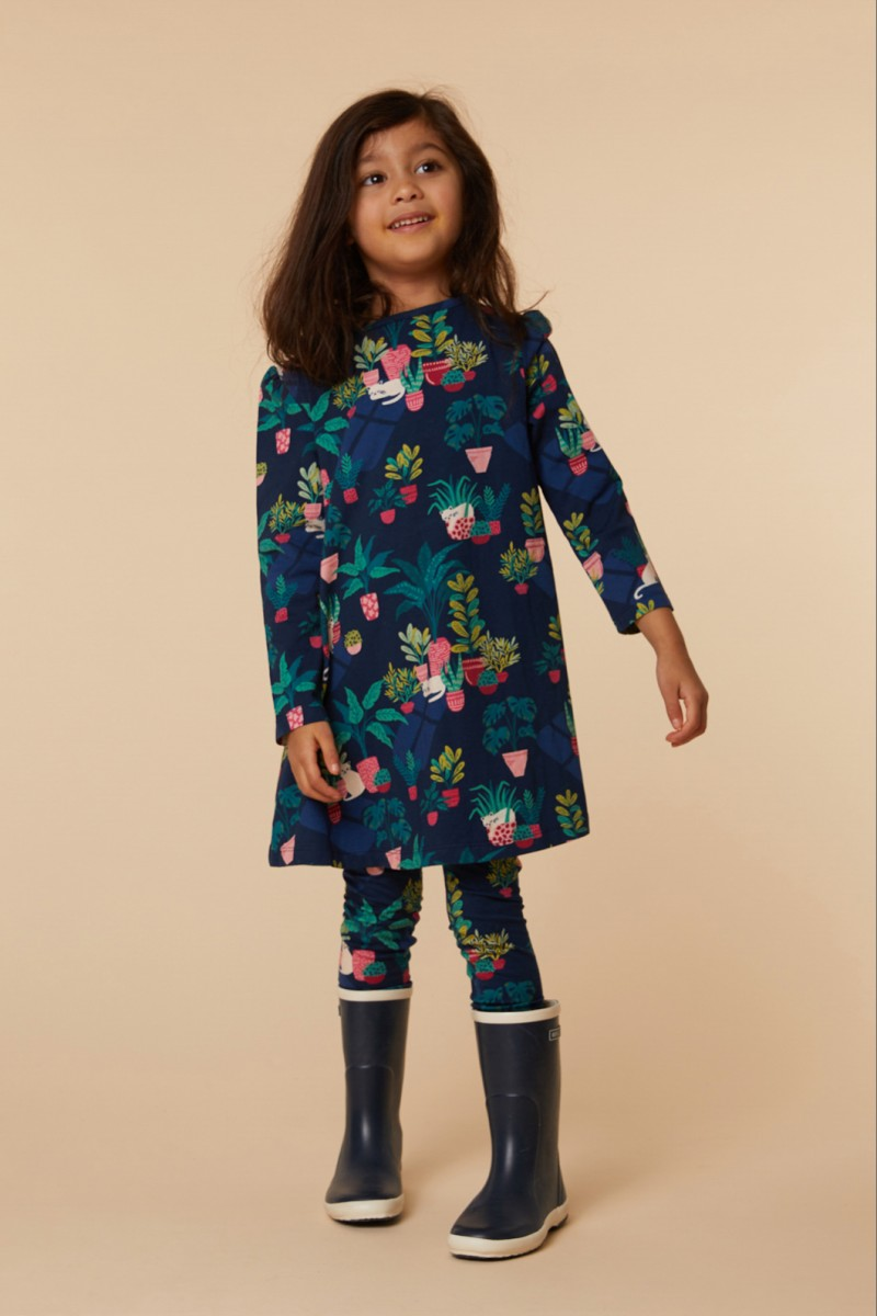 Cats & Things Jersey Dress