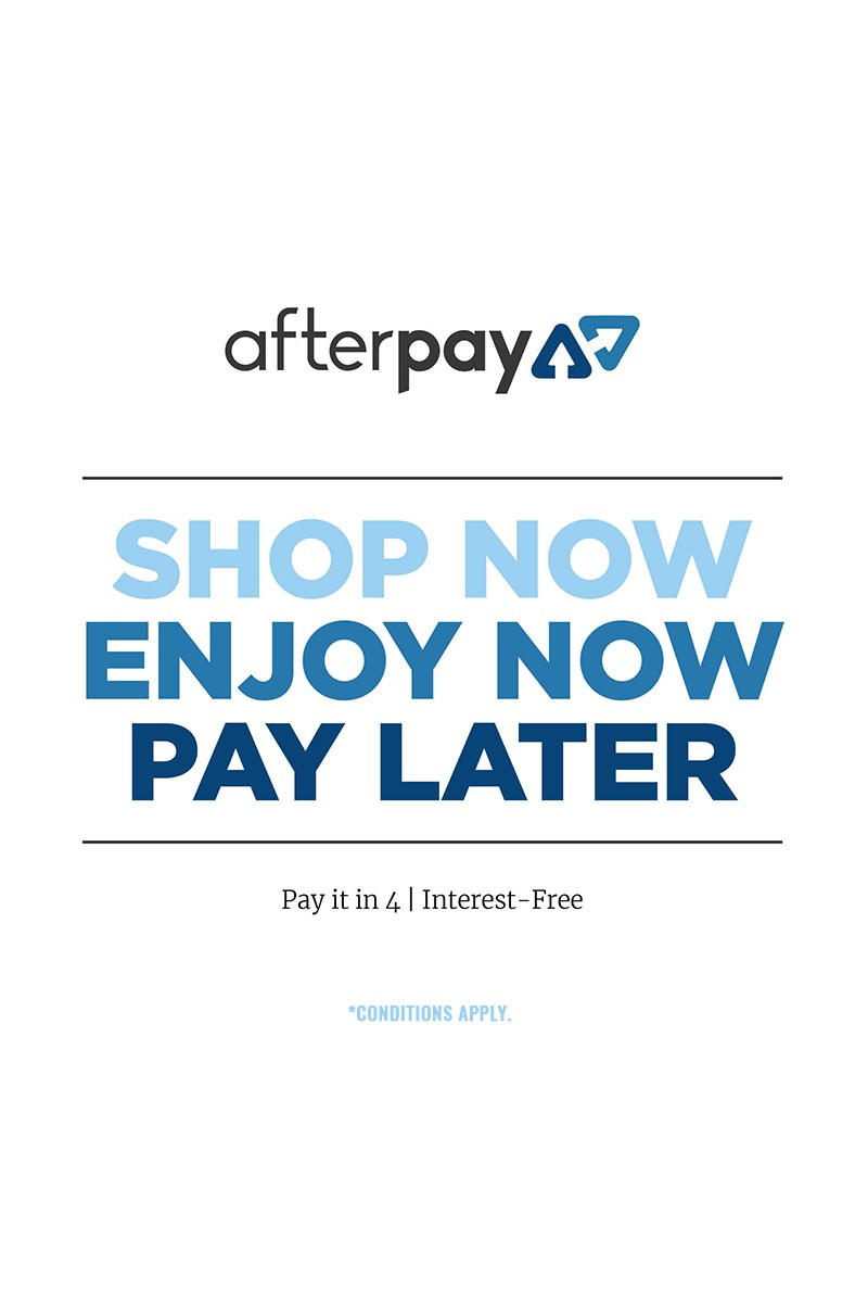 SHOP WITH AFTERPAY!