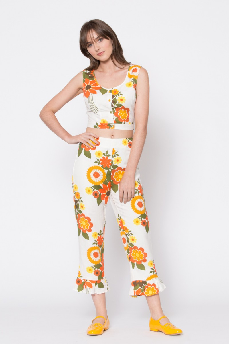 Floral Psyche Top