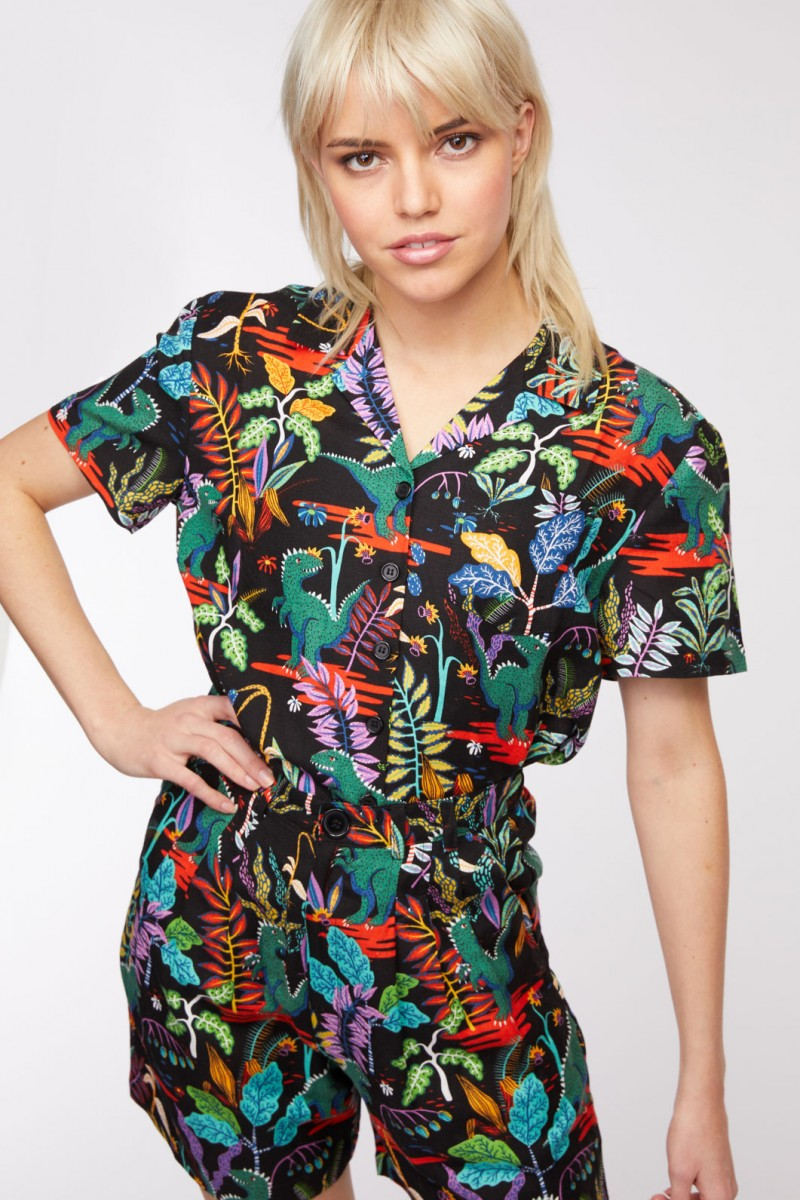 Lost World Blouse