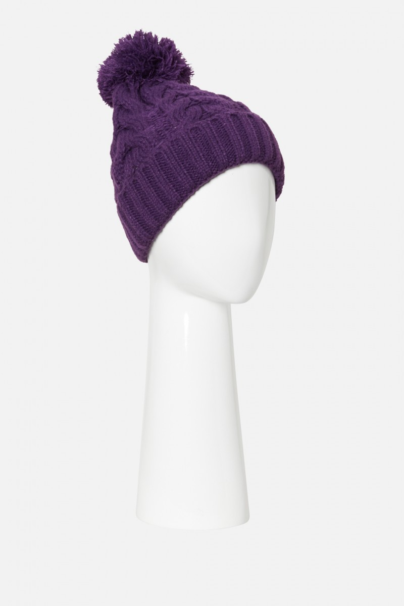 Witch Bitch Cable Beanie