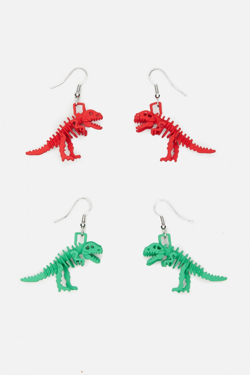 Trex Earring Set