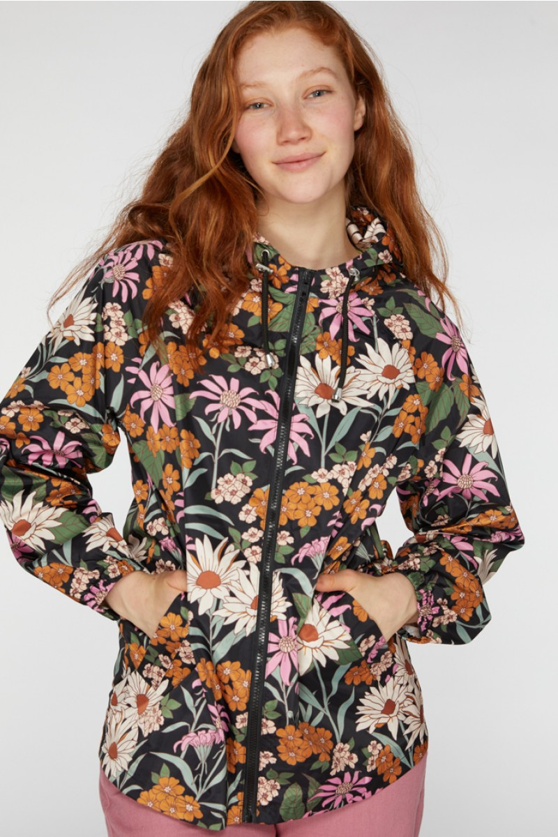 Honey Floral Raincoat