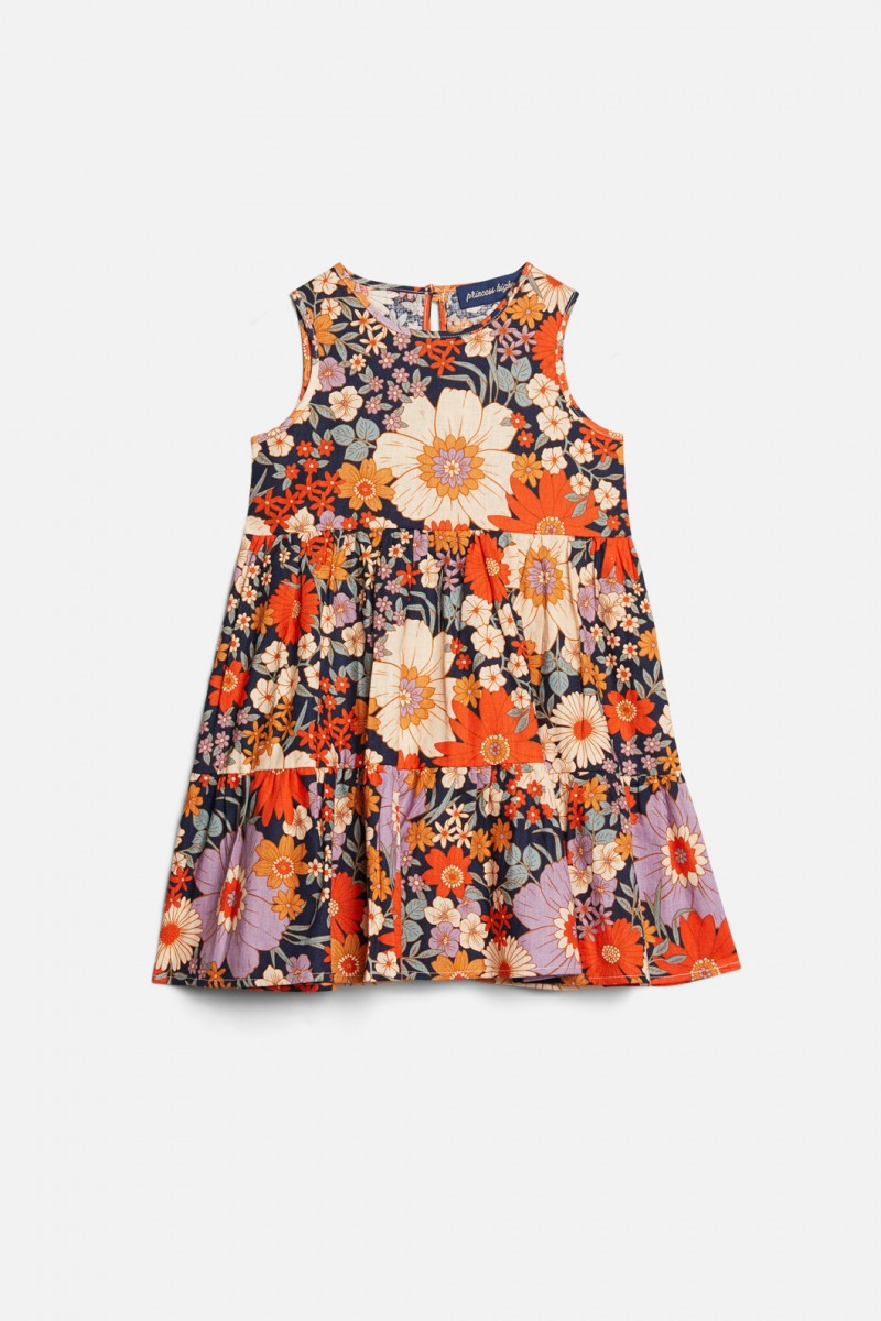 Sunny Day Tiered Dress