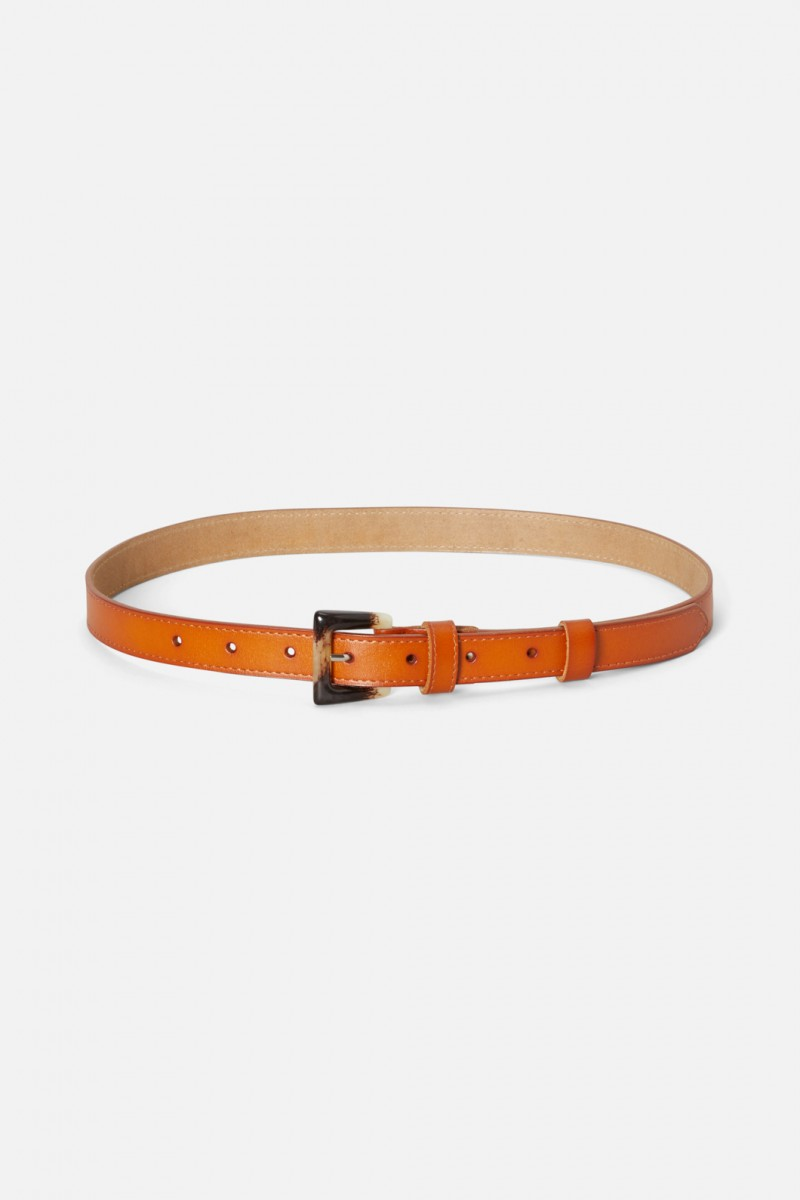 Acetate Buckle Belt