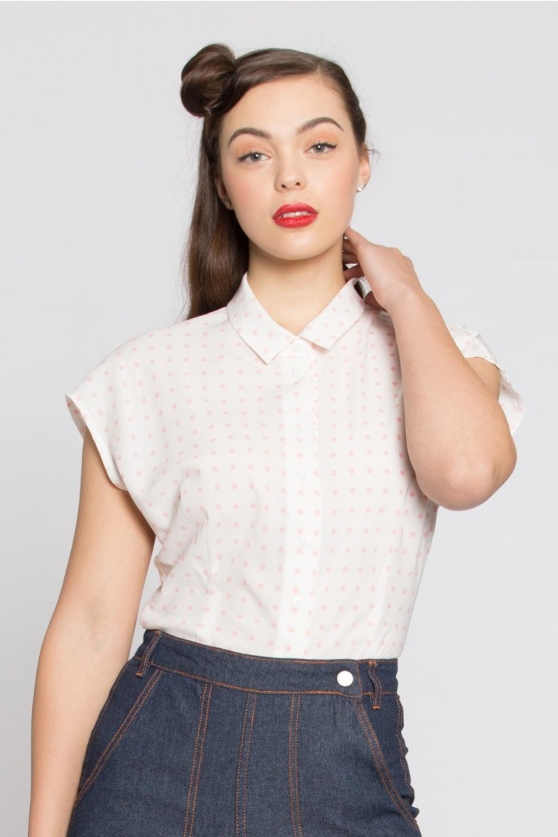 Some Like It Hot Blouse