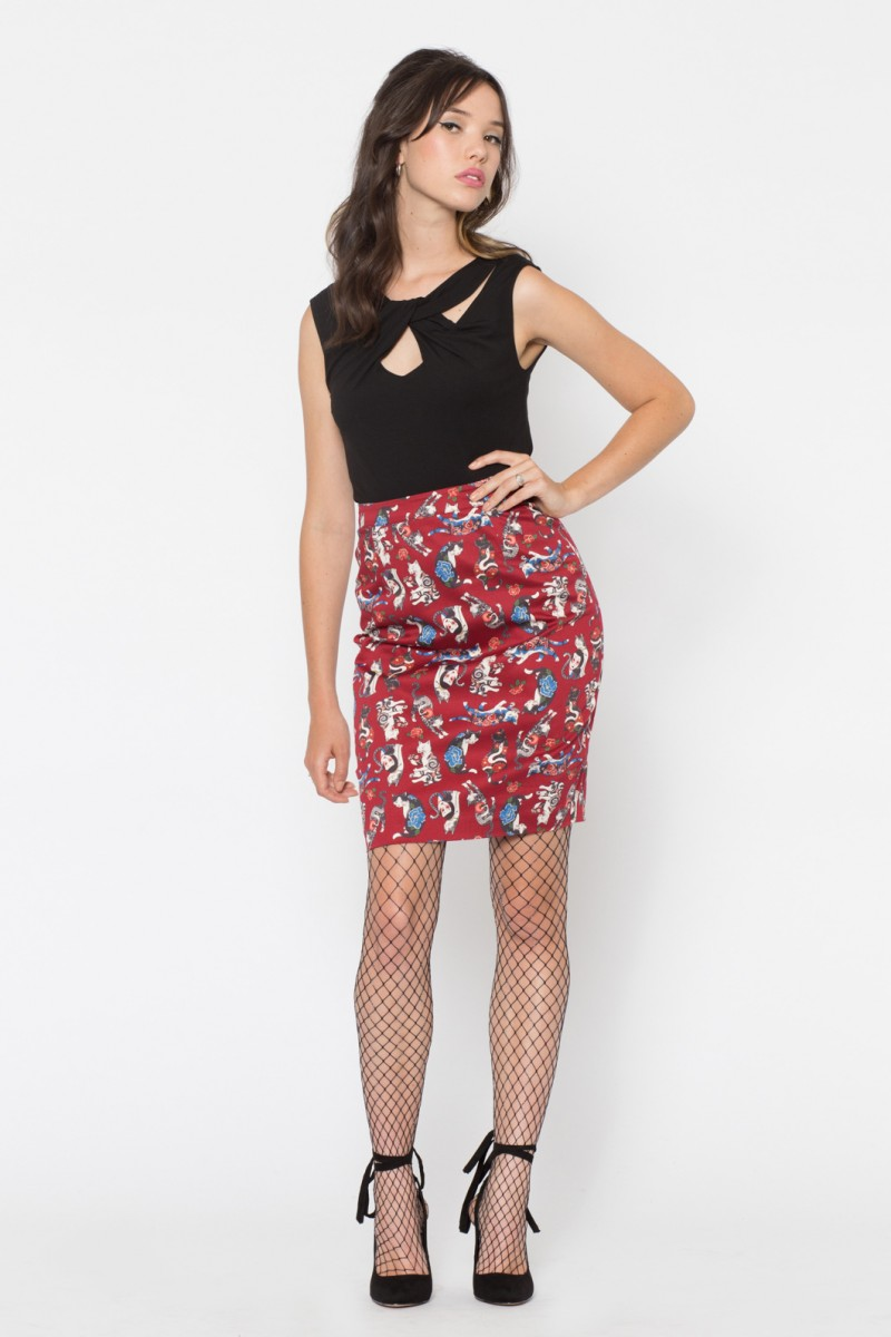 Neko Tattoo Skirt