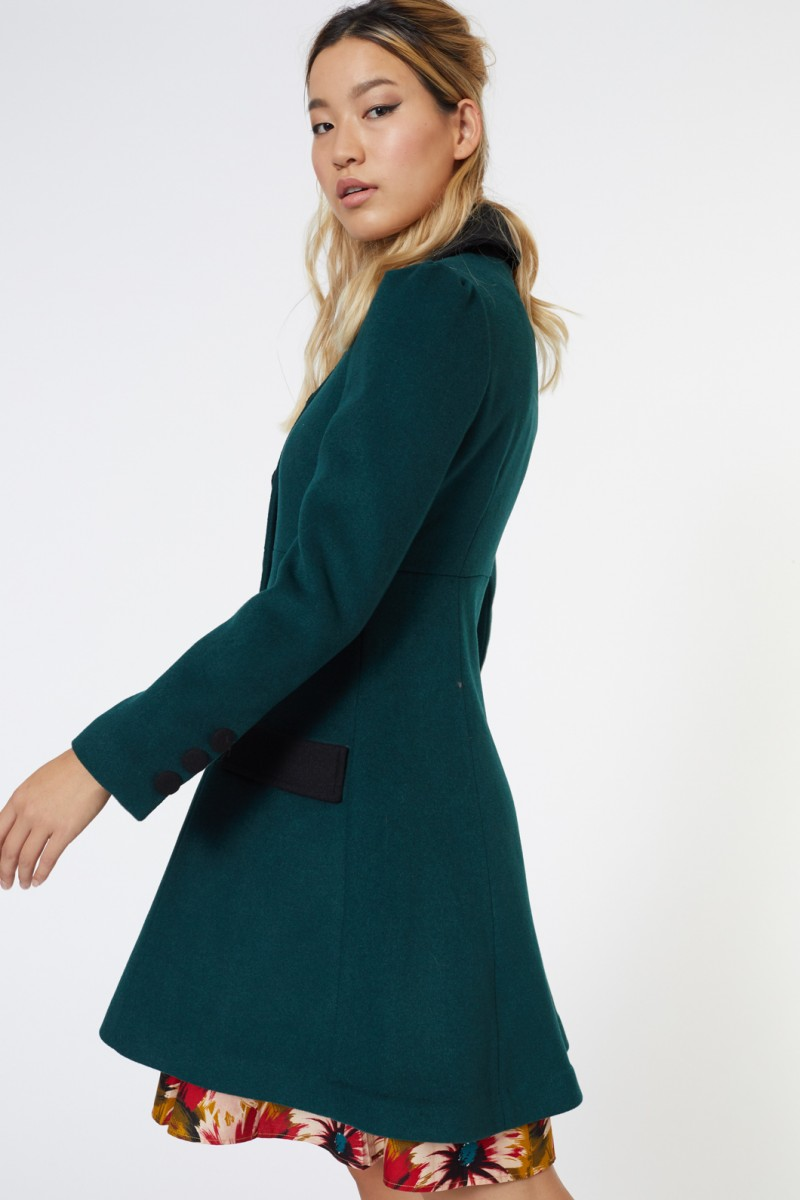 Green Gem Coat