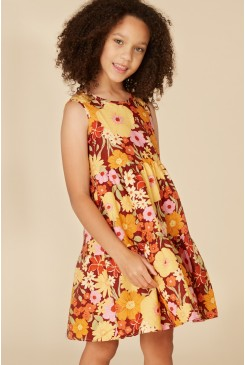 All In Bloom Tiered Dress