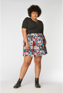 Love At First Bite Skirt Curve