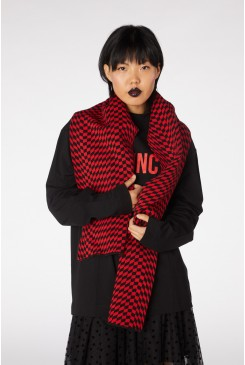 Wraped Knitted Scarf