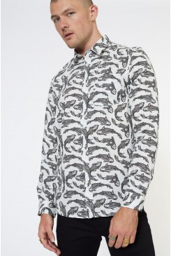 Whiskers LS Shirt