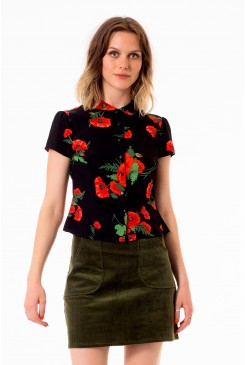 Poppies Blouse