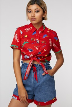 Meanwhile,In Australia Blouse
