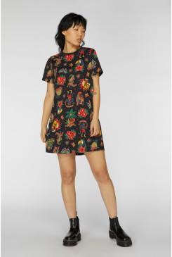 Its A Jungle Out There Tee Dress