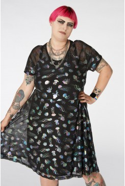 Jellyfish Galaxy Dress Curve