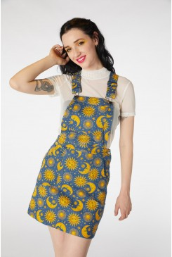 Celestial Denim Pinafore