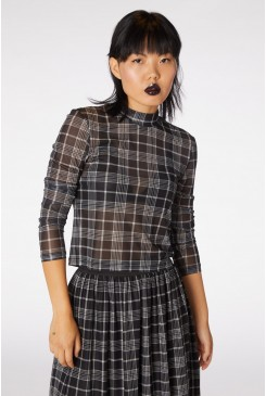 Double Trouble Mesh Top
