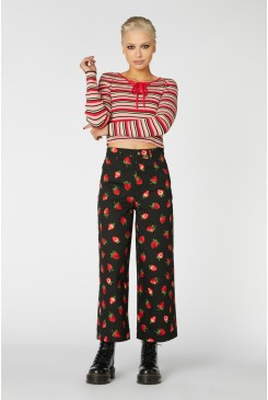 Strawberry Drill Pant