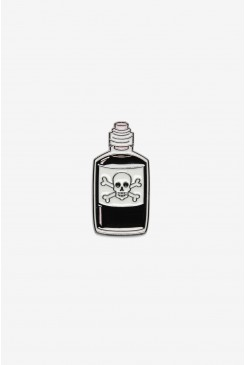 Poison Bottle Pin