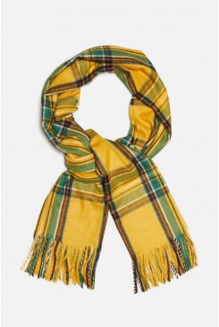 Coloured Check Scarf