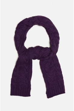 Witch Bitch Cable Scarf