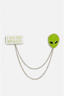 I Need Space Collar Chain