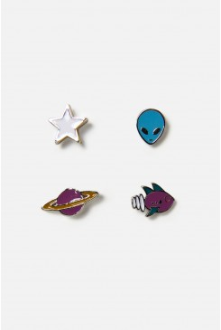 Space Earring Set