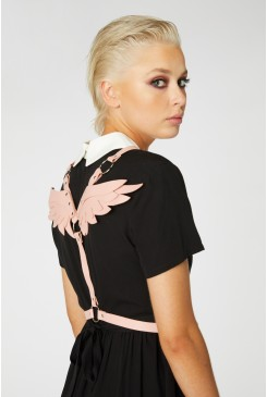 Pink Wings Harness