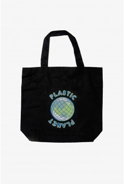 Plastic Planet Tote Bag