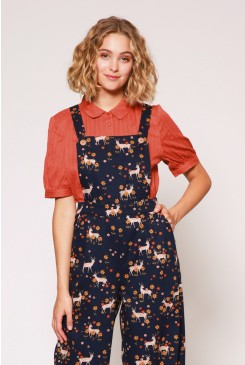 Meadow Deer Overalls