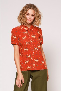 Meadow Deer Blouse