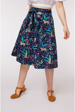 Tiger & Chameleon Skirt