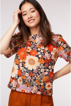 Sunny Flower Top