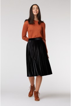 Mia Pleated Skirt