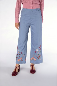 Ingrid Embroidery Jean