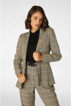 Ashley Check Blazer