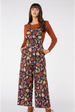Forest Print Overall