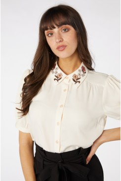 Flora Embroidered Blouse