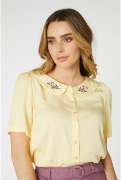 Diana Embroidered Blouse