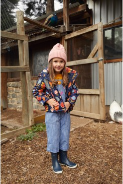 Flower Fields Puffer Jacket