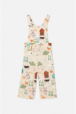 Sunny Meadow Overalls