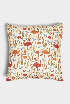 Emu And Echidna Cushion