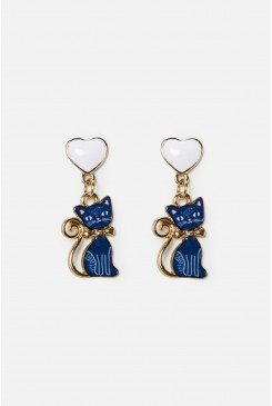 Kitty Cat Earring