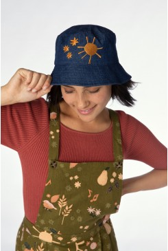 Picnic Embroidered Hat